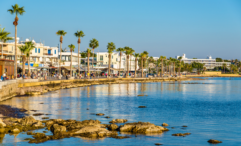 Paphos is located in southwest Cyprus and is the capital of Paphos district.