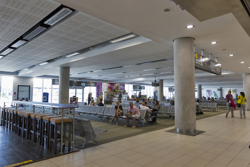 Paphos Airport has a single passenger terminal.